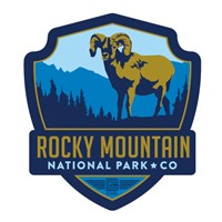 Rocky Mountain Emblem Sticker