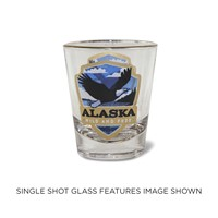Ak Eagle Emblem Shot Glass