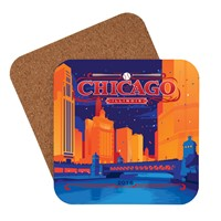 Celebrate Chicago Coaster