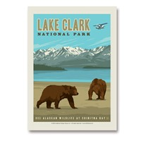 Lake Clark NP Vertical Sticker