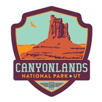 Canyonlands NP Emblem Sticker