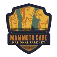 Mammoth Cave NP Emblem Sticker