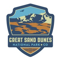 Great Sand Dunes NP Emblem Sticker