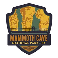 Mammoth Cave National Park Emblem Magnet