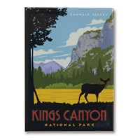 Kings Canyon Metal Magnet