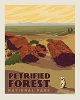 "Petrified Forest 8"" x10"" Print"