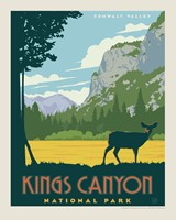 "Kings Canyon 8"" x10"" Print"