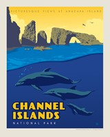 "Channel Islands 8"" x10"" Print"