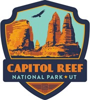 Capitol Reef Emblem Sticker