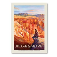 Bryce Canyon Hoodoo Heaven Vertical Sticker