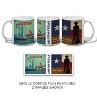 Austin, TX Double Mug (11 oz.)