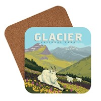 Glacier National Park Goats in the Valley Coaster