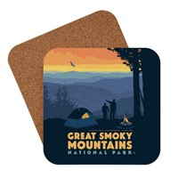 Great Smoky Back Country Camping Coasters
