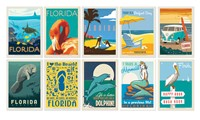 FL 50 Postcard Assortment