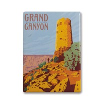 Grand Canyon Desert View Watchtower Magnet