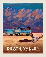 "Death Valley Living It Up 8"" x 10"" Print"