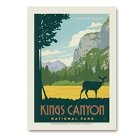 Kings Canyon Vert Sticker