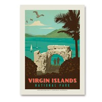 Virgin Islands Vert Sticker