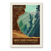 Great Smoky Alum Cave Vert Sticker