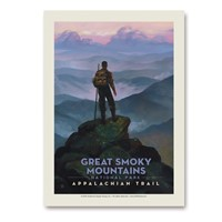Great Smoky Appalachian Trail Vert Sticker