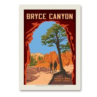 Bryce Canyon Peekaboo Trail Vert Sticker