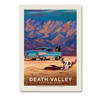 Death Valley Living It Up Vertical Sticker