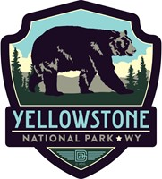 Yellowstone Bear Emblem Sticker