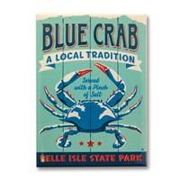 Belle Isle State Park Blue Crab Magnet