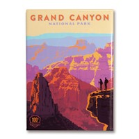 Grand Canyon 100th Anniversary Magnet