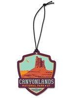 Canyonlands Emblem Wooden Ornament