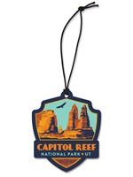 Capitol Reef Emblem Wooden Ornament