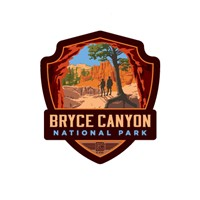 Bryce Canyon Peekaboo Trail Emblem Sticker