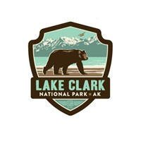 AK034ESK - Lake Clark Emblem Sticker
