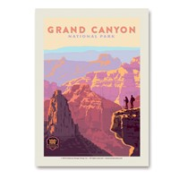 Grand Canyon 100th Anniversary Vert Sticker