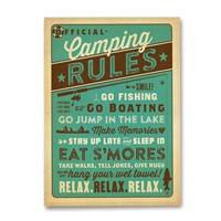 Camping Rules Magnet