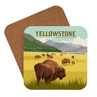 Yellowstone Bison Herd Coaster