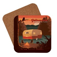 Yellowstone Camping is for Nature Lovers Coaster
