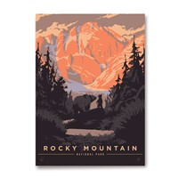 Rocky Mountain Bear Hug Magnet