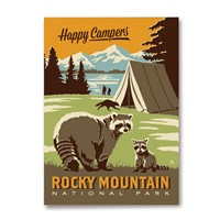 CO061MM - RMNP Happy Campers Magnet
