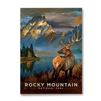 CO027MM - Rocky Mountain NP Buck Magnet