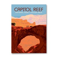 Capitol Reef Cassidy Arch Magnet
