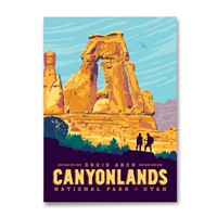 Canyonlands Druid Arch Magnet