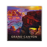 Grand Canyon Landscape Square Magnet
