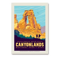 Canyonlands Druid Arch Vert Sticker
