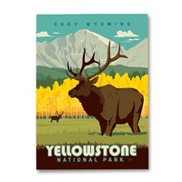 WY013MM - Yellowstone NP Cody WY Magnet