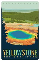 WY040MP - Yellowstone NP Grand Prismatic Springs Magnetic PC